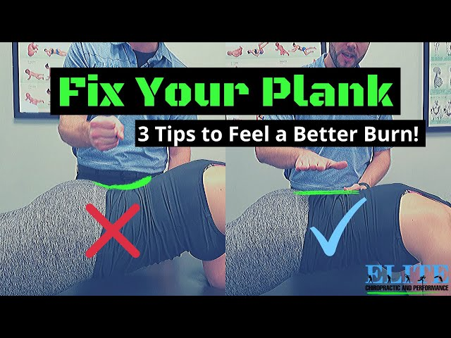 Fix Your Plank   3 Tips for a Better Burn   Chesterfield Chiropractor