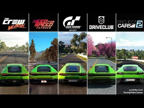 Gran Turismo Sport PS4 Exclusive Need For Speed Payback Xbox One PC DriveClub The Crew