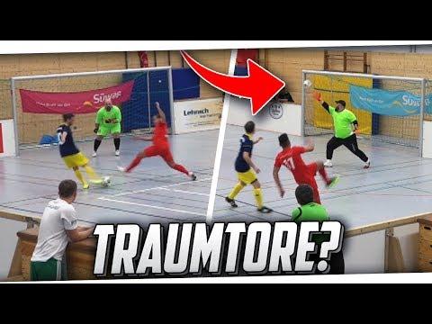 HALLENFUSSBALL! Heftige  Tore & Paraden beim 1. Hallenturnier! PMTV
