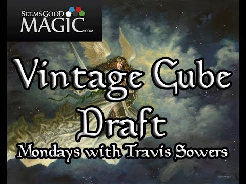 Vintage Cube Draft #88 Mondays with Travis Sowers - Match 2