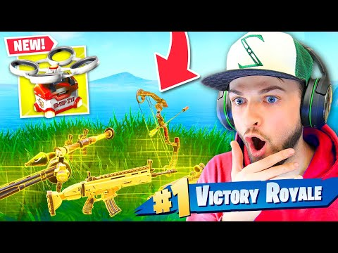 Fortnite Added SUPPLY DRONES! (INSANE LOOT)