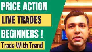 LIVE Intraday Trading For Beginners - (PRICE ACTION Trading Live) 🔥🔥