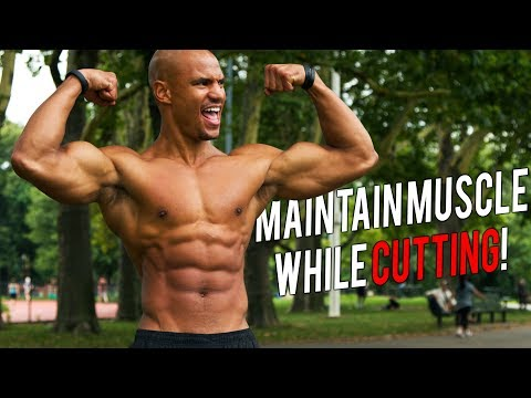 "3 SECRETS To Maintain MUSCLE MASS While CUTTING ""Swole Cut"""
