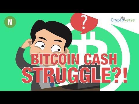 Bitcoin Cash Struggling? Hard Fork Network Split Post Mortem Segwit Update