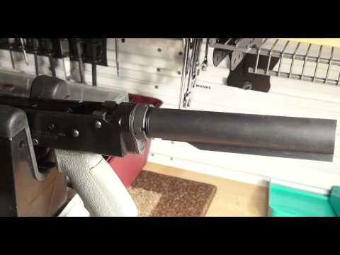 Making My Own AK-47 to AR-15 Style Stock Adapter Part10