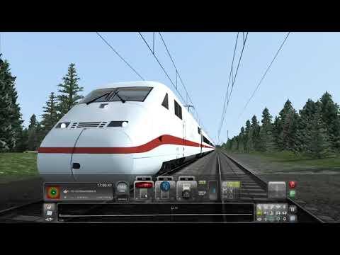 Life Of A Train Conductor: DB Intercity Ice 2-Hannover to Hamburg #2