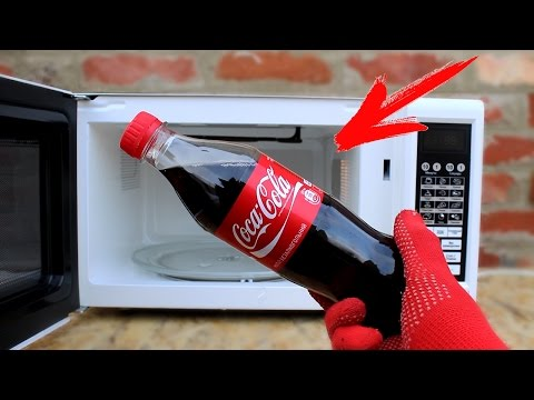 EXPERIMENT: Microwave VS Coca Cola