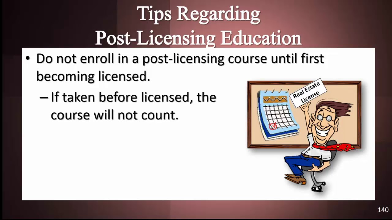 Florida Real Estate Post Licensing Requirement Youtube