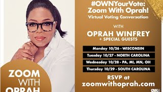 The Nikki Rich Show live with Jotaka Eaddy, senior advisor of OWN's OWN Your Vote initiative.