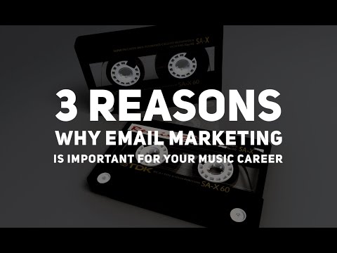 3 Reasons Why Email Marketing Is Important For Your Music Career