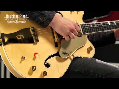 Gretsch Guitars Custom Shop Country Gentleman 12-String Electric Guitar Amber Natural
