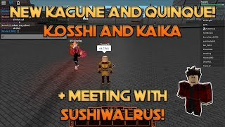 Roblox Ro-Ghoul (Halloween Update!) | New Kosshi and Kaika Showcase + Meeting SushiWalrus!