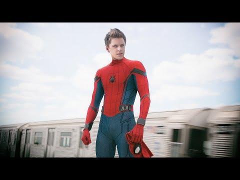 Человек-паук с научной