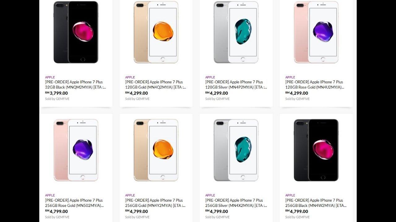 Yang masih ngincer iphone 7 plus garansi resmi. Harga Iphone 7 dan Iphone 7 Plus Ditahun 2019 Garansi Resmi TAM - YouTube