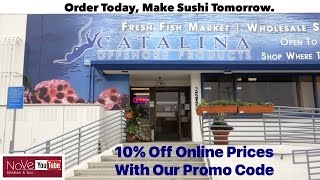Exclusive! Buy Where Top Sushi Chefs Buy Their Seafood!!
