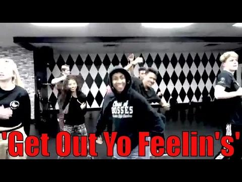 'Get Out Yo Feelin's' YG xRJ Dance  Aktualize   Kiki Corely Choreo