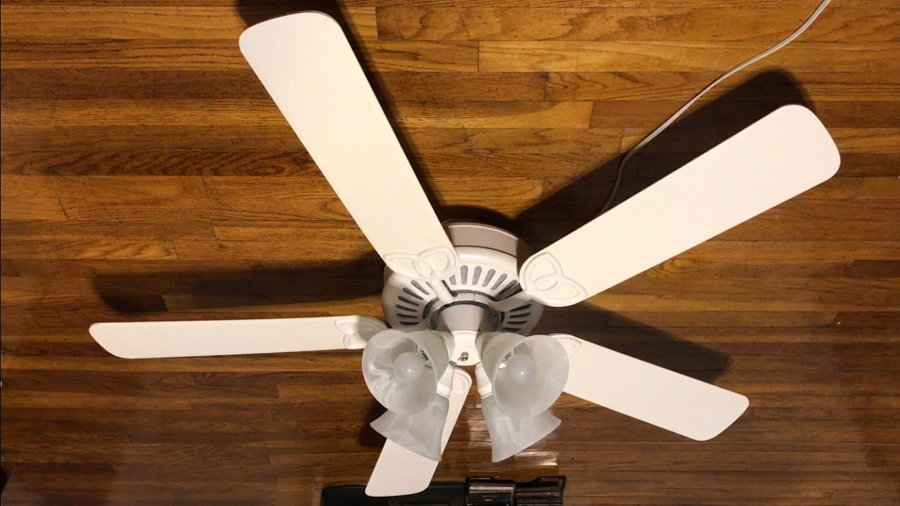 Harbor Breeze Springfield Ceiling Fan 52 White Blades