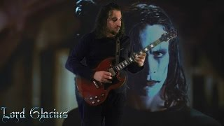 IL CORVO: The Crow - Inferno (roof solo cover + extra ) HD