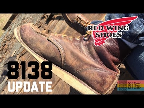 "Red Wing 8138 Heritage Boots ""2 Year Update"""