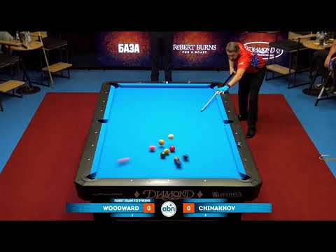 ABNbilliards Dreamchallenge 2019 Day 2 (Matches 1-6) USA - Russia