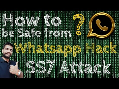 Whatsapp Hack SS7