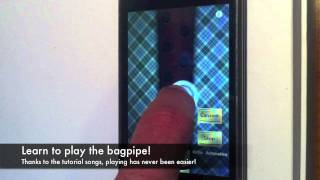 Bagpipe - free App for iPhone and iPad