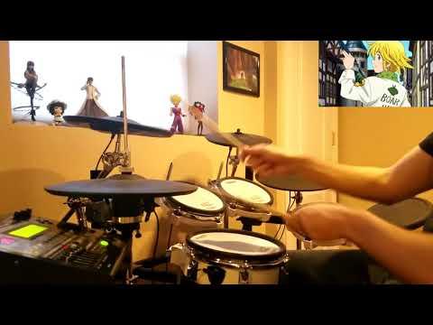 Nanatsu no Taizai: Imashime no Fukkatsu OP【七つの大罪 戒めの復活 】 -【Howling】by FLOW x GRANRODEO - Drum Cover