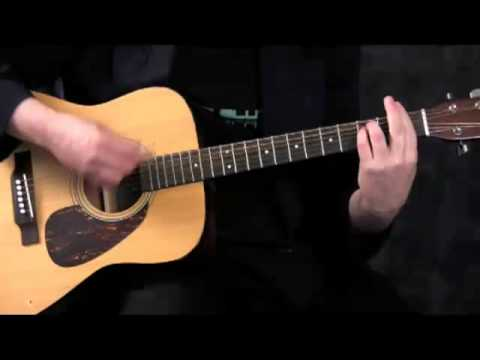 Basic Minor Chords for Guitar - F minor (Fm)