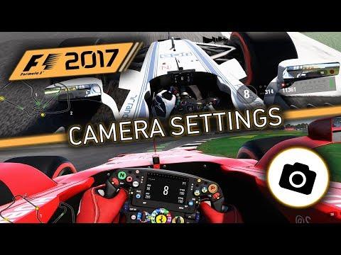 F1 2017 Lightcruiser's Camera Settings (Cockpit/T-Pod/T-Pod Offset