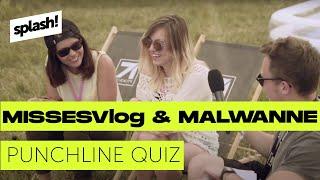 WHO DAT?! – Kelly MissesVlog & Malwanne im Punchline-Quiz (splash! Mag TV 2015)