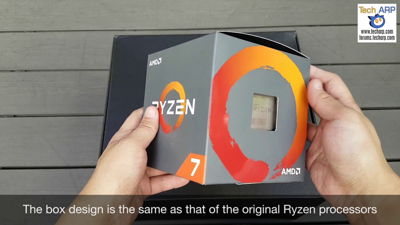 a75cd75d170 Unboxing The AMD Ryzen 7 2700X - YouTube