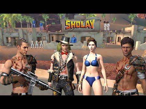Download Sholay !! short story !! गब्बर सिंह || free fire { PRO AK BOY }