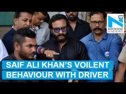 saif-ali-khan-misbehaves-with-driver,-threatens-to-slap-him-|-nyoooz-tv