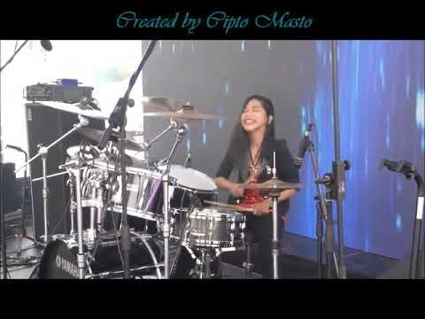 Gamma1 Jomblo Happy LIVE Drum Cover by Nur Amira Syahira