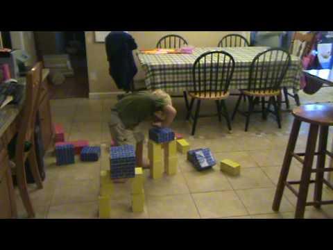 """Clinton Murphy Jr. (3 years old) """"Breaking"""""""