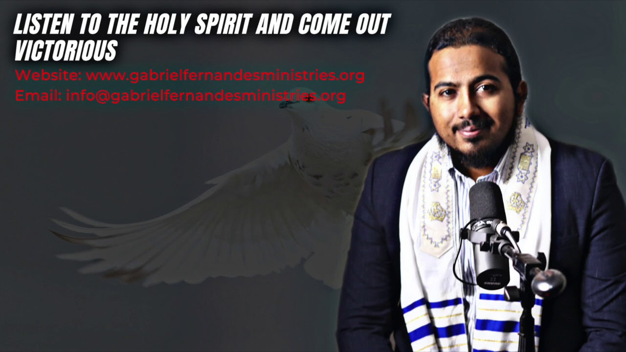 LET THE HOLY SPIRIT LEAD YOU TO VICTORY, POWERFUL MESSAGE AND PRAYERS WITH EV. GABRIEL FERNANDES