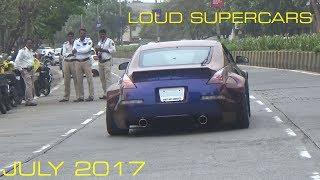 LOUD SUPERCARS OF MUMBAI   INDIA   JULY 2017