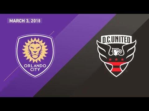 HIGHLIGHTS: Orlando City SC vs. D.C. United | March 3, 2018