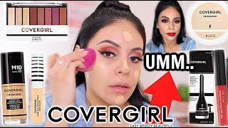 FULL FACE USING ONLY COVERGIRL! Hits & Misses