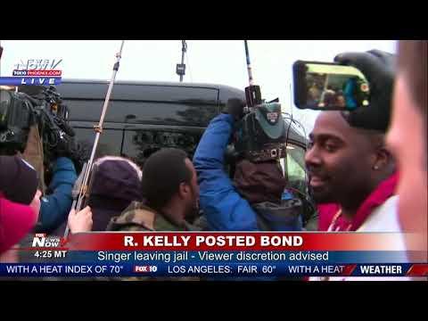 G BiZ - R Kelly Released On Bond & Fans Gather In Support