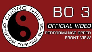 Cuong Nhu Bo 3 - Official Kata - Performance Speed - Front View