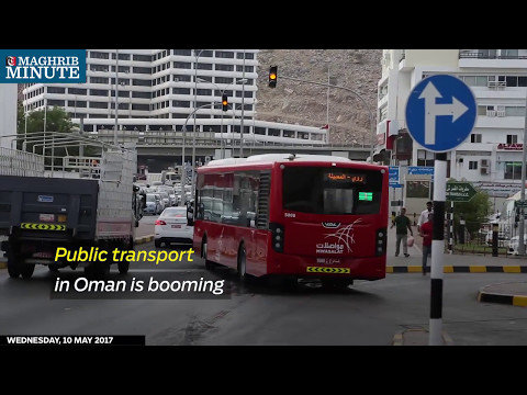 Public transport in Oman is booming