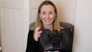 'Louis Vuitton Mazarine Review' and 'What's in my bag'
