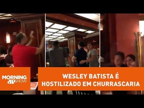 """Wesley Batista é Hostilizado Em Churrascaria: """"vagabundo"""""""