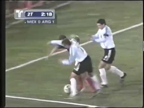 Cuauhtémoc Blanco vs Argentina (Amistoso 04/02/2003)