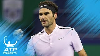 Great Escape! Federer Saves Five Dramatic Match Points | Shanghai 2014