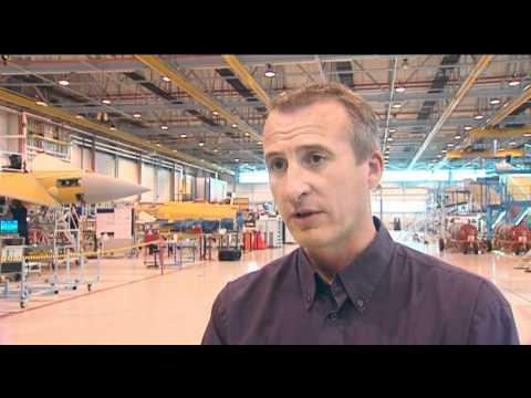Behind the scenes at the RAF Typhoon factory 26.07.11