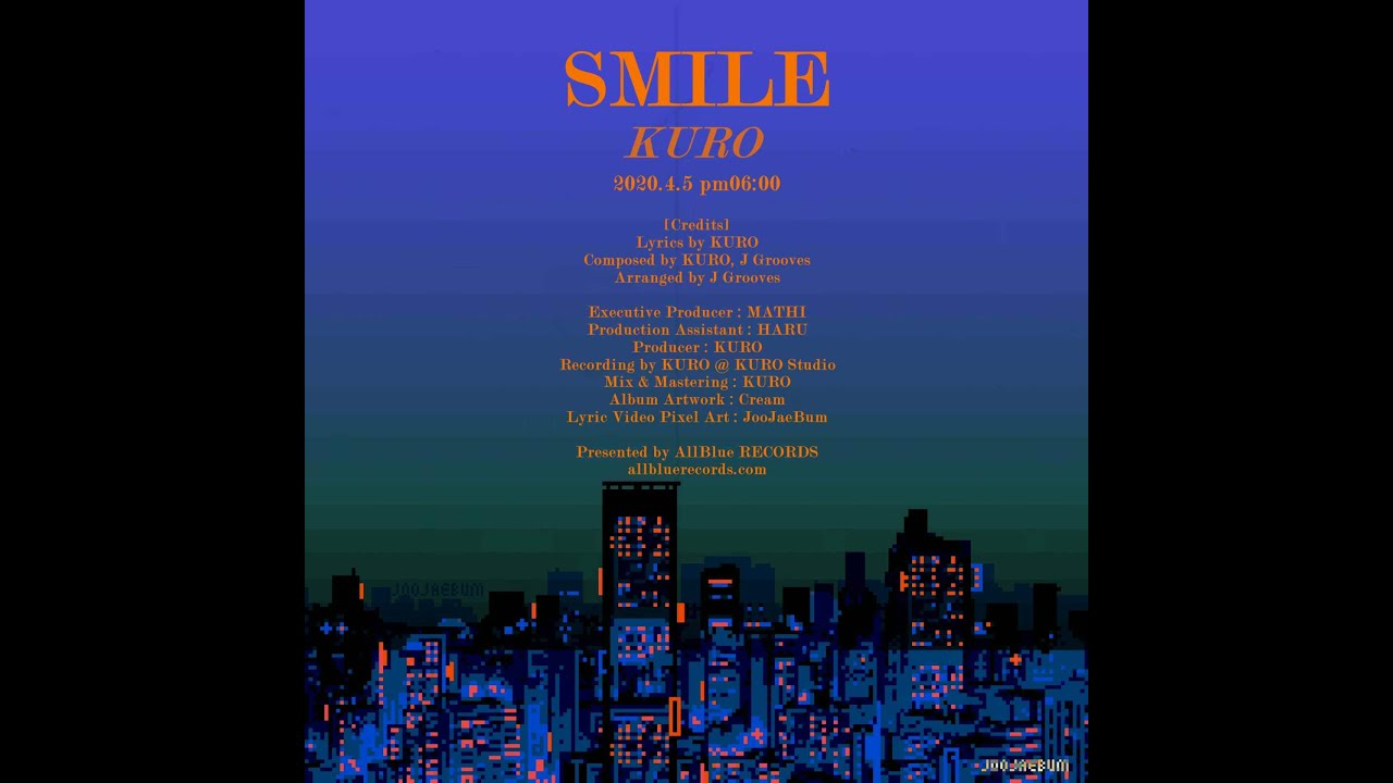 KURO - SMILE [Lyric Video]