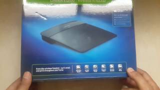 Linksys E1200 Wireless N 300 MBPS Router Unboxing amp Overview