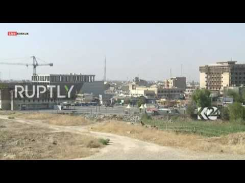 Iraq: Kurdish forces fight IS in Kirkuk after militants occupy damaged building